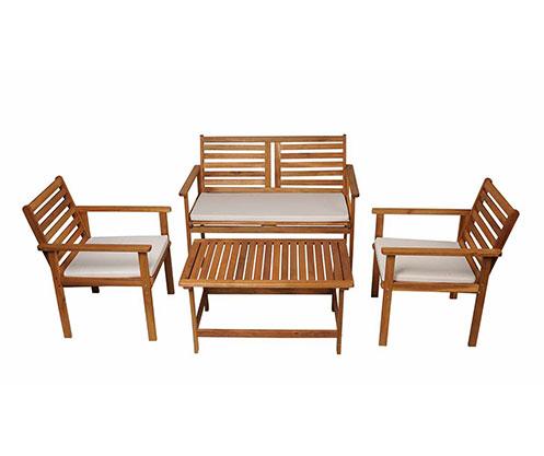 Balkon Mobilyaları Bah 231 E Mobilyaları Rattan Bambu Hasır