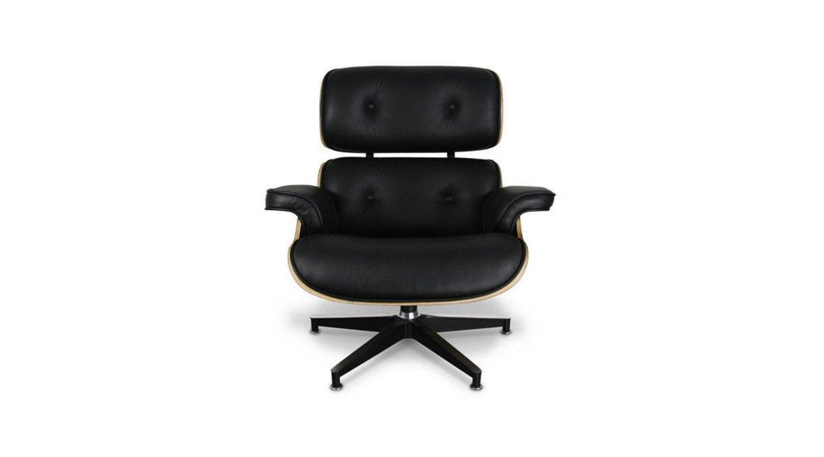 eames long cha r koltuk clear walnut vivense. Black Bedroom Furniture Sets. Home Design Ideas