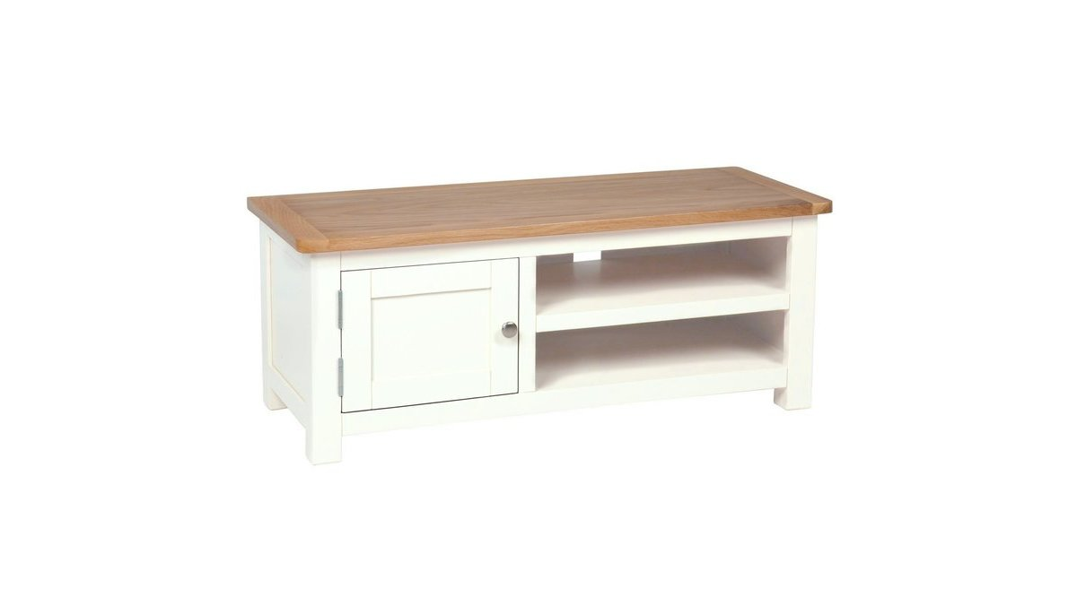 ALONSO BEYAZ TV  STAND MEDİUM