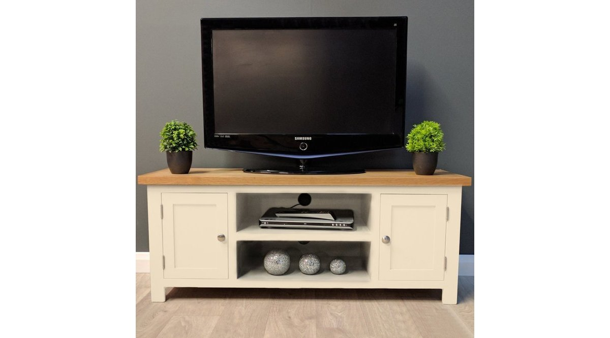 ALONSO KREM TV STAND LARGE