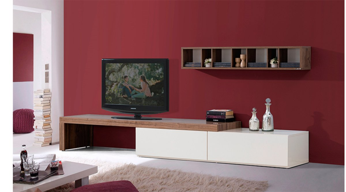 m randa tv n tes 250 cm vivense. Black Bedroom Furniture Sets. Home Design Ideas