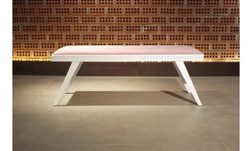 LOTUS BENCH TOZ PEMBE