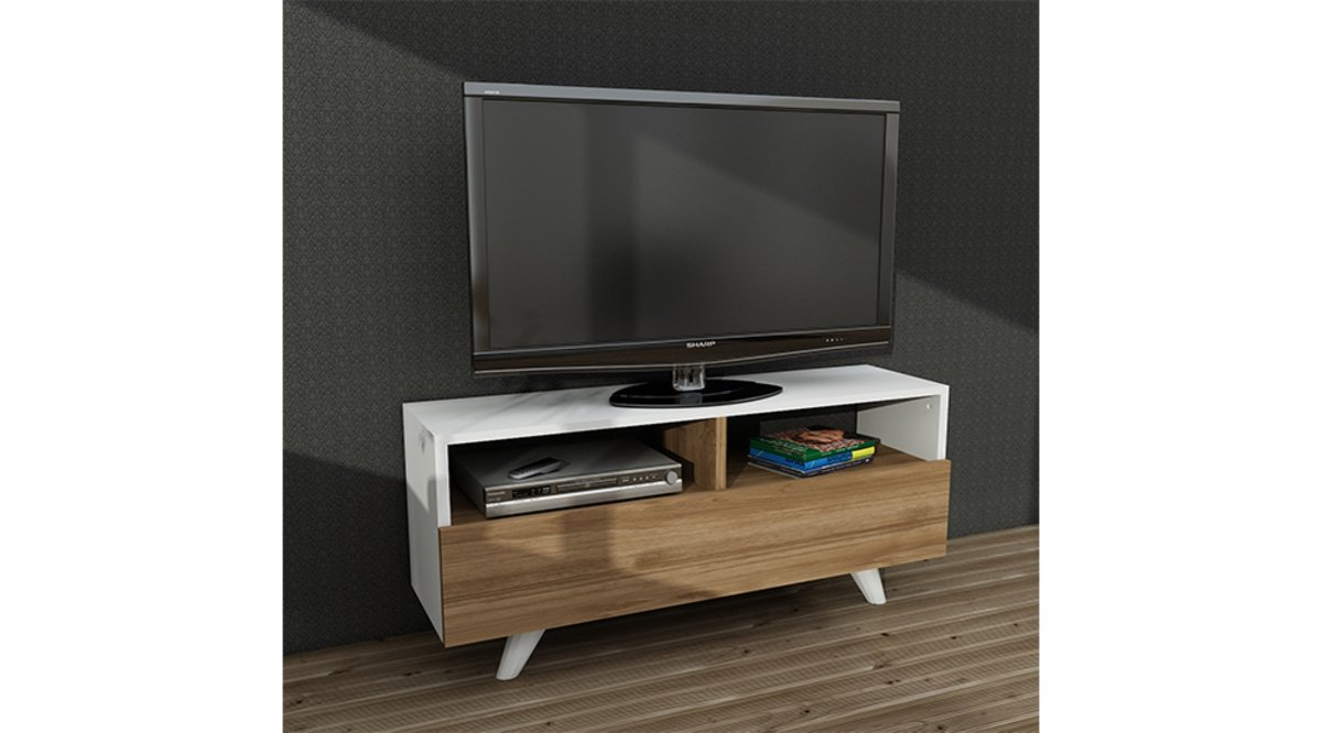 carol ne tv sehpasi beyaz cev z 90 cm vivense. Black Bedroom Furniture Sets. Home Design Ideas