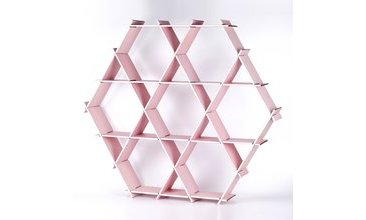 HEXAGON KARTON PETEK RAF PEMBE-LARGE
