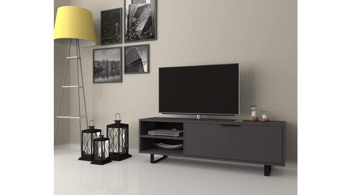 DMODÜL NEW SMART 140 CM TV ÜNİTESİ GRİ