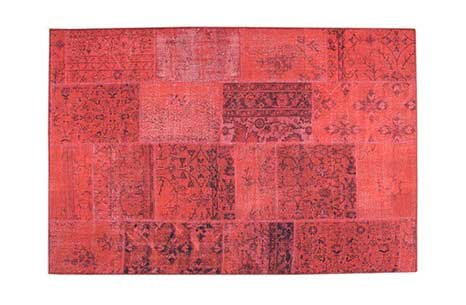 Patchwork Halı Red 1500