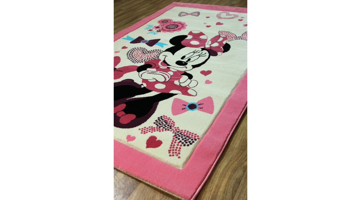 ÇOCUK HALISI MINNIE MOUSE PEMBE