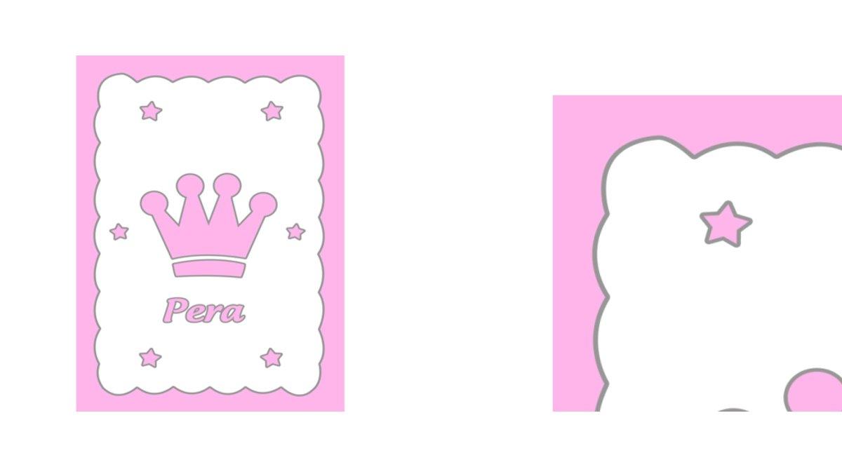 Isme özel çocuk Halisi Prenses Taç Vivense