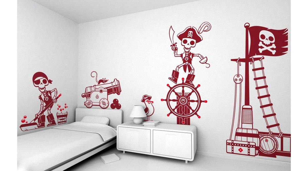 Прикольные рисунки на обои в комнату