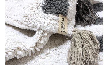 MOOD RUGS DİAMOND HALI ECRU GREY