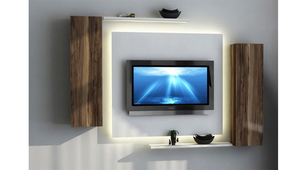 hayal tv duvar n tes 125 cm vivense. Black Bedroom Furniture Sets. Home Design Ideas