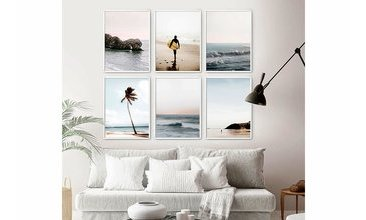 OCEANWALL SURFING ALTILI TABLO SETİ 33X48