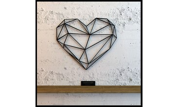 Heart Metal Wall Art