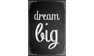 DREAM BİG CANVAS TABLO