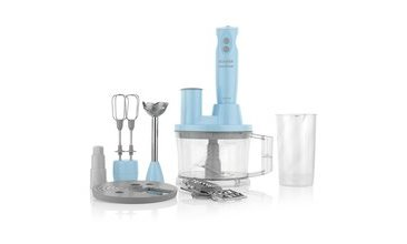 Schafer Elektro Chef Mega Blender Set 15 Parça Turkuaz