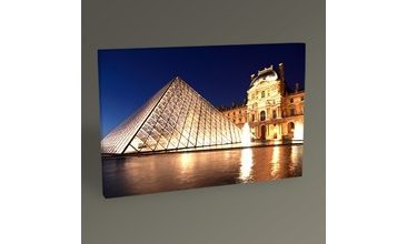 PARİS LOUVRE PYRAMİD II TABLO