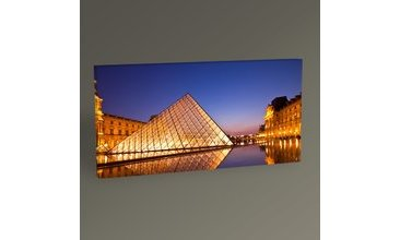 PARİS LOUVRE PYRAMİD TABLO