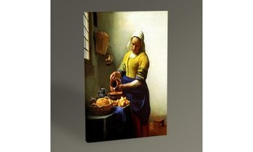 JAN VERMEER THE MİLKMAİD TABLO