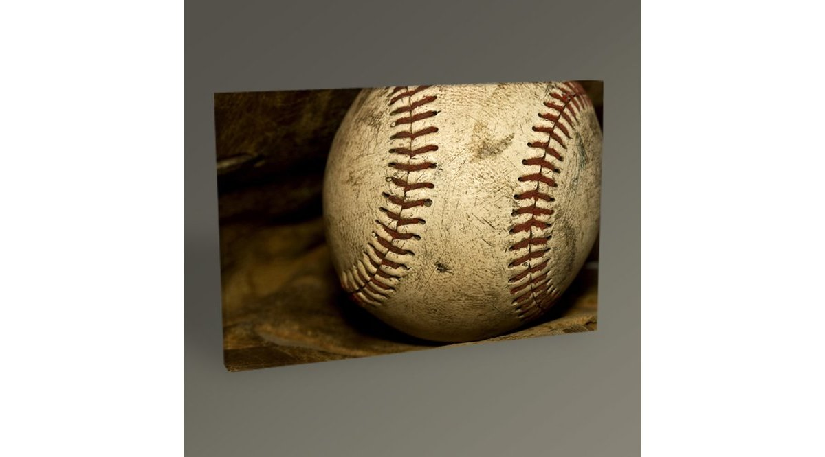 BASEBALL BALL TABLO