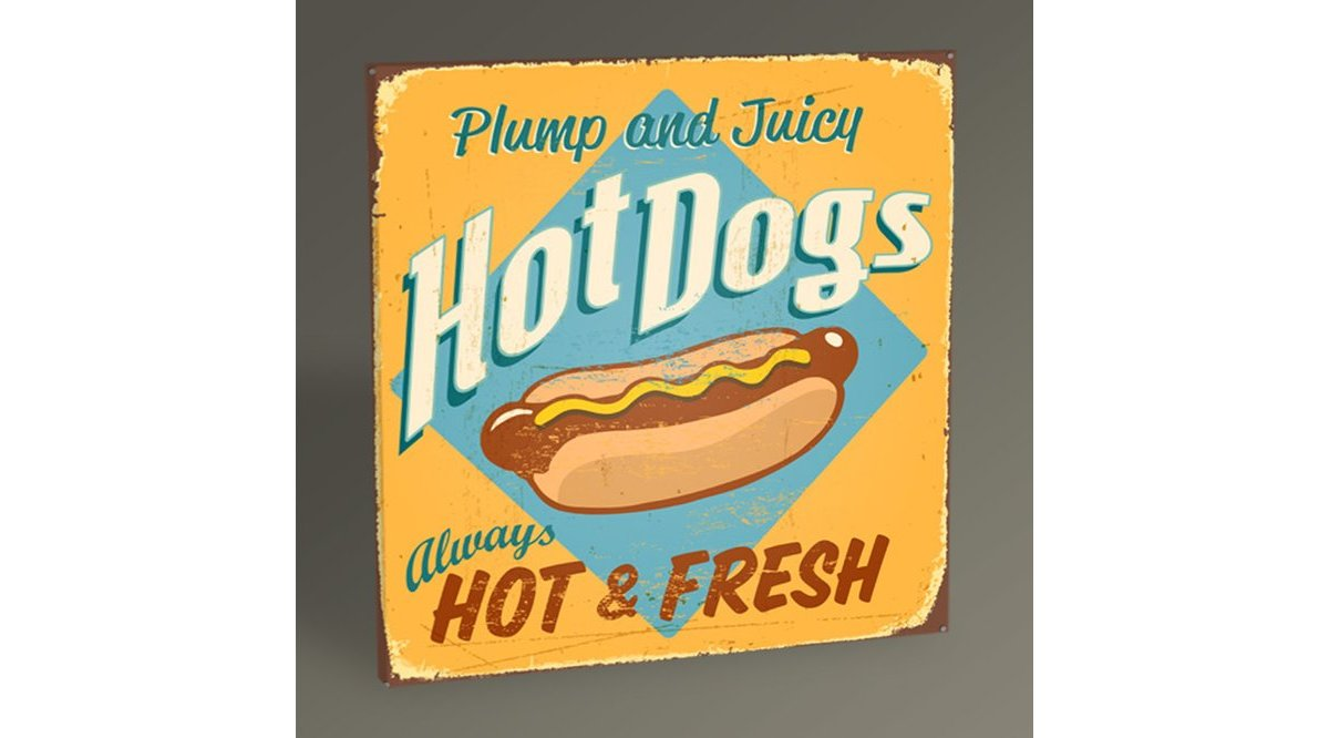 HOT DOGS TABLO