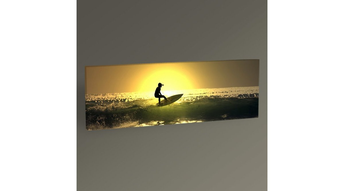 SURFİNG ON OCEAN WAVES TABLO N2