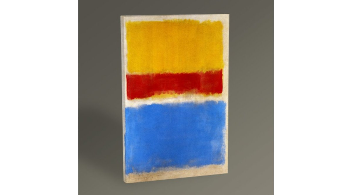 MARK ROTHKO UNTİTLED TABLO N3