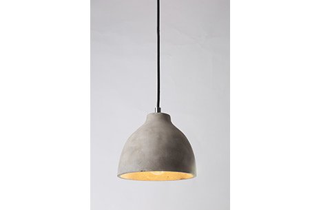 Grey Cement Pendant Lamp Sarkıt