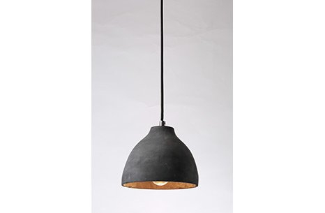 Black Cement Pendant Lamp Sarkıt