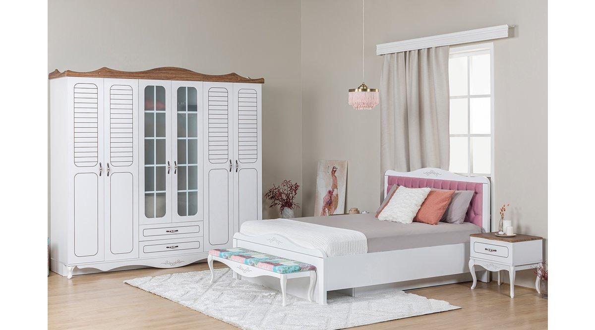 Nc yatak odasi takimi f yati vivense for Mobilya yatak odasi