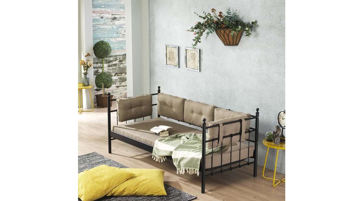 Lalas 90x200 s yah sofa daybed vivense for Sofa 90x200