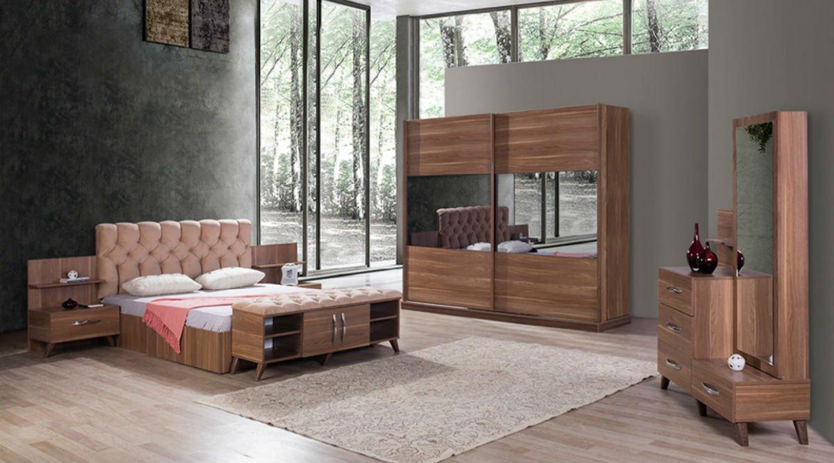 Moda yatak odasi takimi cev z f yati vivense for Mobilya yatak odasi