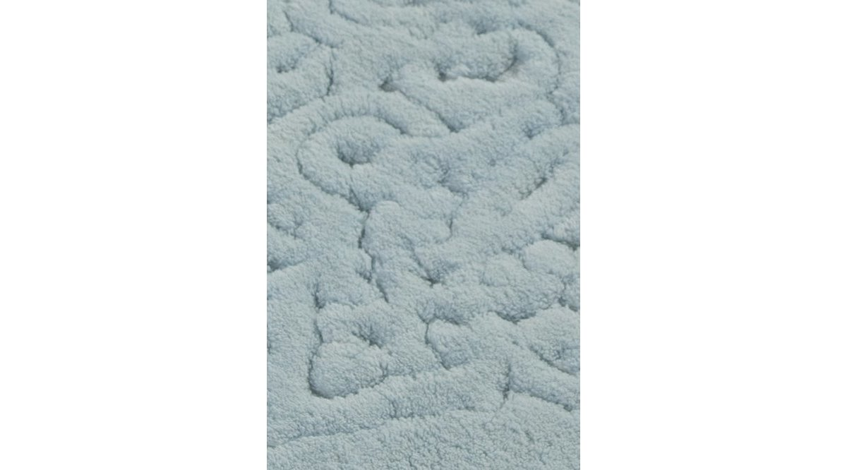 PİANTE OVAL COTTON TURKUAZ 2 Lİ SET BANYO HALISI