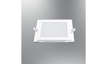 LED PANEL CAMLI KARE 6500K