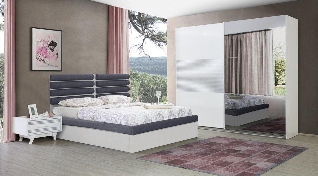 Garden Yatak Odasi Takimi Beyaz