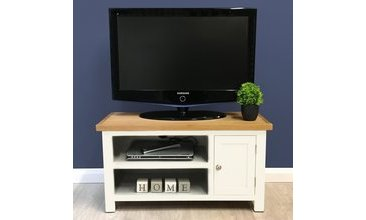ALONSO BEYAZ TV  STAND SMALL