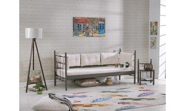 Lalas 90x200 kahve sofa vivense for Divan 90x200